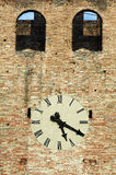 Antique clock on a building. Stock Photography
