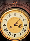 Antique clock dial Royalty Free Stock Images