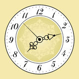 Antique clock face Royalty Free Stock Photos