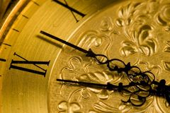 Antique Clock Face Stock Photos