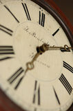 Antique Clock-face. Low angle shallow DOF Royalty Free Stock Image
