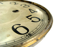 Antique Clock-Face Close-up Stock Photos