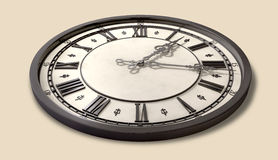 Antique Clock Full Royalty Free Stock Photography