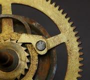 Antique Clock Gear Stock Photo