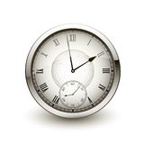 Antique clock icon Royalty Free Stock Photos