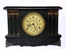 Antique Clock. Royalty Free Stock Images