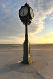 Antique Clock, Jacob Riis Park, Rockaway, Queens Stock Images