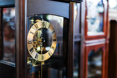 Antique Clock old time passing Stock Photography