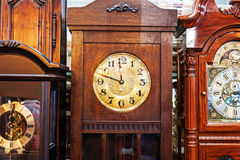 Antique Clock old time passing Royalty Free Stock Photography