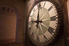 Antique clock Stock Images