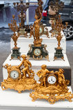 Antique clocks Stock Image