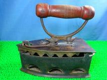Antique cloth iron Royalty Free Stock Photos