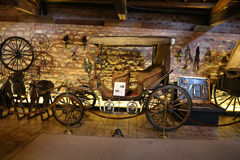Antique Coach in Koc Museum Stock Photography