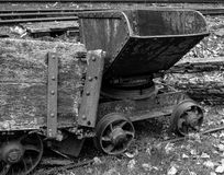 Antique coal cart Stock Photography