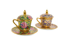 Antique Coffee Cup Stock Image