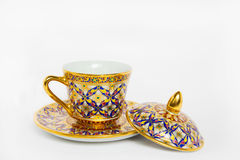 Antique Coffee Cup Royalty Free Stock Photo
