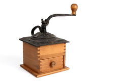 Antique Coffee Grinder Stock Photo