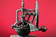 Antique coffee grinder Stock Photo