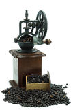 Antique coffee grinder Royalty Free Stock Photos