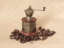 Antique coffee grinder Stock Image