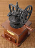 Antique coffee mill Royalty Free Stock Image