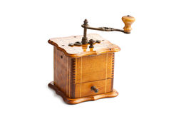 Antique coffee mill Royalty Free Stock Photos