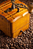 Antique coffee mill Stock Image