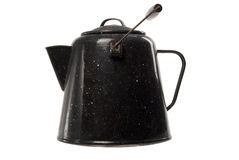 Antique coffee pot Royalty Free Stock Photos