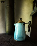 Antique Coffee Pot Cook Kitchen Stock Photography