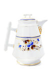 Antique coffee pot of historicism time area. Stock Photography