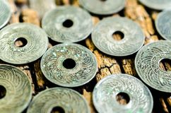 Antique coins Stock Photography