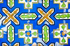 Antique colorful tiles Royalty Free Stock Image