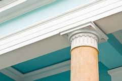 Antique column Royalty Free Stock Photography