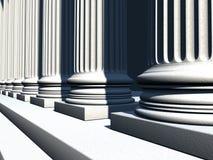 Antique columns Stock Photos