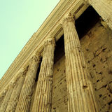 Antique columns in Rome, Italy. Royalty Free Stock Photography