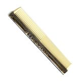 Antique comb. On a white background stock photography