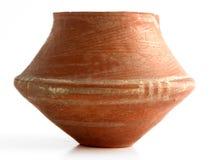 Antique container. Genuine antique container, clay Stock Image