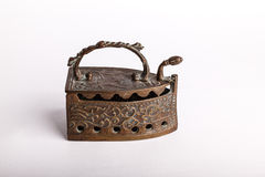 Antique copper iron Royalty Free Stock Images