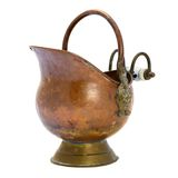 Antique copper jar. Stock Images