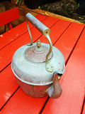 Antique Copper Kettle Stock Image