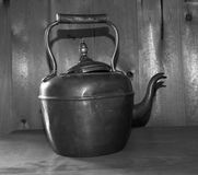 Antique Copper Kettle Royalty Free Stock Images