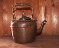 Antique Copper Kettle Stock Images