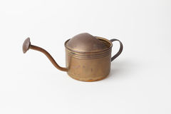 Antique copper kettle Royalty Free Stock Image