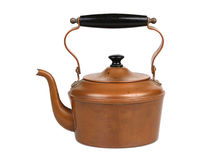 Antique Copper Teapot Stock Image
