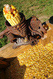Antique Corn Sheller Stock Images