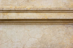 Antique cornice detail background. Old antique cornice detail background texture Royalty Free Stock Image