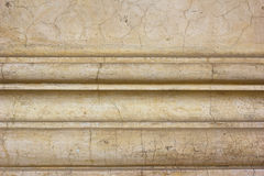 Antique cornice detail background. Old antique cornice detail background texture Stock Photography