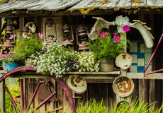 Antique Country Store. This is a photo of an antique general store in alaska Stock Photography