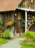 Antique Country Store. This is a photo of an antique wooden store in alaska Royalty Free Stock Images