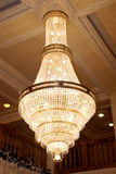 Antique crystal chandelier Stock Photo